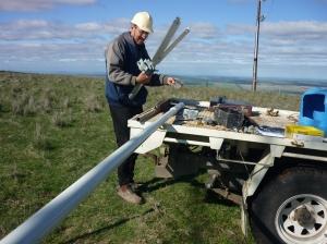 RLH antenna Job 008